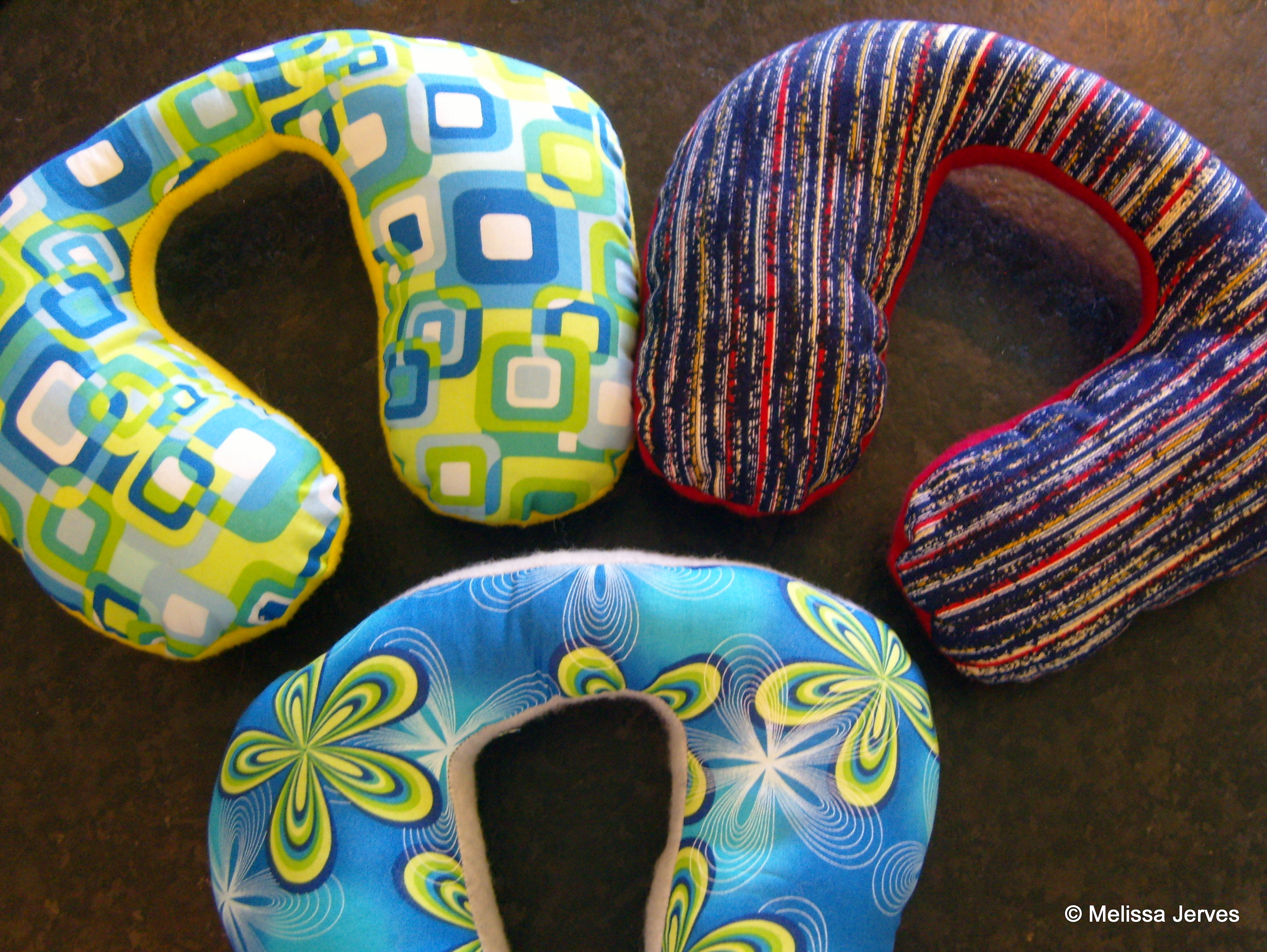Kid S Travel Neck Pillows Home Baked